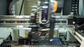 Automation of production. Soldering iron. Electric circuits. Microchips. Soldering iron tips of automated manufacturing