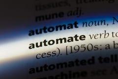 automatisan arkivfoto