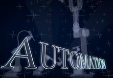 automatisan royaltyfri illustrationer