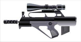 Automatisch geweer Royalty-vrije Stock Afbeeldingen