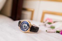 automatisch horloge Stock Foto's