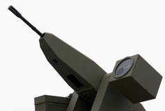 Automatisch machinegeweer Royalty-vrije Stock Afbeelding