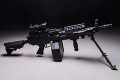 Automatisch machinegeweer Stock Afbeelding