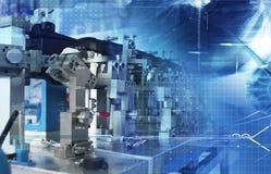 Automatische assemblagetechnologie Stock Afbeeldingen