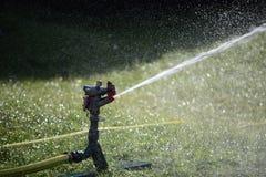 Automatische Bewässerungsdose lizenzfreies stockbild