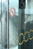 Automatische Glastüren Lizenzfreies Stockbild