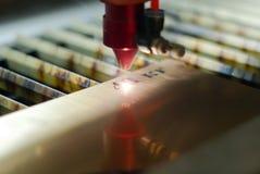 Automatische lasergravure stock foto's