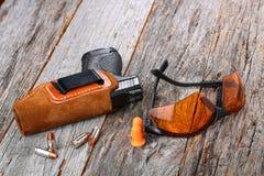 Automatische 9mm Pistole Lizenzfreies Stockfoto