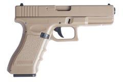 Automatische 9mm Pistolenpistole Glock Lizenzfreie Stockfotos