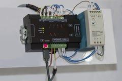 Automatische programmierbare Ausrüstung hoher Präzision Logik-Prüfer PLC für industrielles lizenzfreie stockfotos