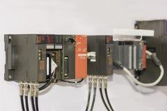 Automatische programmierbare Ausrüstung hoher Präzision Logik-Prüfer PLC für industrielles stockfotografie