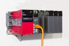 Automatische programmierbare Ausrüstung hoher Präzision Logik-Prüfer PLC für industrielles lizenzfreies stockbild