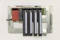 Automatische programmierbare Ausrüstung hoher Präzision Logik-Prüfer PLC für industrielles lizenzfreies stockfoto