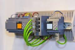 Automatische programmierbare Ausrüstung hoher Präzision Logik-Prüfer PLC für industrielles lizenzfreie stockfotografie
