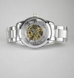 Automatische skeleton Armbanduhr Lizenzfreies Stockbild