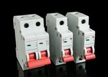 Automatische stroomonderbreker Royalty-vrije Stock Foto