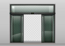 Automatische türen  Automatische Türen Des Gleitenden Glases Vektor Abbildung - Bild ...