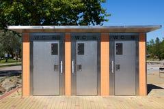 Automatische Toilette Stockbild
