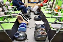 Automatische voetmassagers royalty-vrije stock fotografie