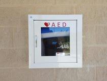 Automatischer externer Defibrillator Lizenzfreie Stockbilder