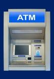 Automatisches Bargeldterminal Stockbild