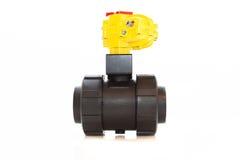Automatiserad ventil jpg fotografering för bildbyråer