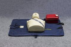 Automatisierter externer Defibrillator Stockfotos
