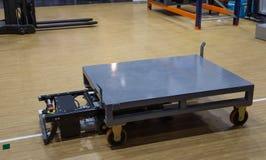 Automatisierter Gestellsortierer-Materialtransport stockbild