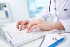 Automatisierung des Gesundheitssystems stockbilder