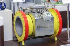 Automatisierungsrohrleitungen Stockfoto