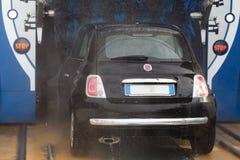 automatisk bilwash Arkivbilder