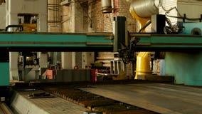 Automatisk bitande maskin för laser för plasmametallklipp, metallklipp och att bearbeta som är moderna arkivfilmer