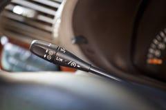 Automatisk farthållareströmbrytare Fotografering för Bildbyråer