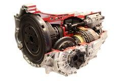 Isolerad automatisk gearshift för bil Royaltyfria Foton