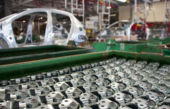 automatisk industrimanufacture Royaltyfria Foton