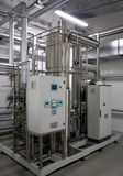 automatiskt filtrationsystemvatten Royaltyfri Fotografi