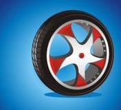 automatiskt hjul Royaltyfri Bild