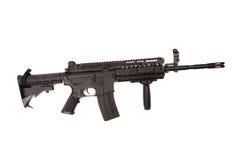 automatiskt isolerat gevär för anfall arkivbild