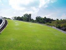 automatiskt trädgårds- bevattna för system Royaltyfri Fotografi