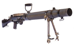 Automatiskt vapen Arkivbilder