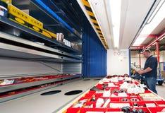 Automatização do armazenamento Fotografia de Stock