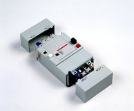 Automatização para a eletricidade Fotos de Stock Royalty Free