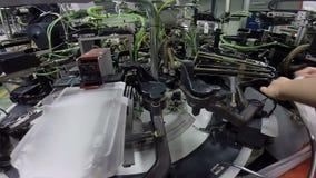 Automatización de la industria textil metrajes