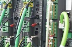 Automatización del PLC Fotos de archivo