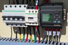 Automatización eléctrica Imagen de archivo libre de regalías