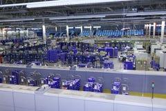 Automatizado classificando o centro do cargo do russo em St Petersburg Fotos de Stock Royalty Free