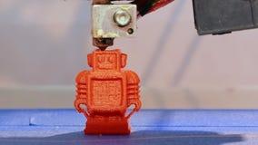 Automatyczna 3D drukarka zbiory wideo