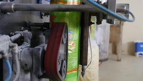 Automatyczna maszyna dla pakować w fabryce zbiory wideo