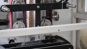 Automatyczna maszyna wypełnia pakunki jedzenie zbiory