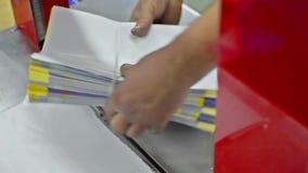 Automatyczna pakuje maszyna zbiory wideo